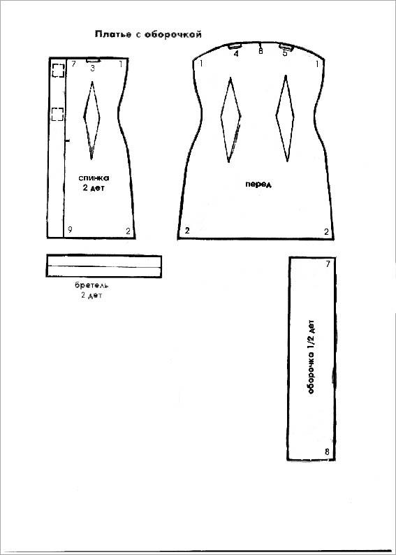 Как легко сшить платье для барби своими руками